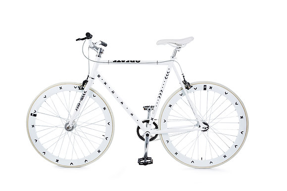 Bike Reflex: Silver Cross