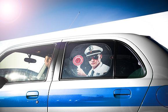 Blind Passenger: Stop! Police!