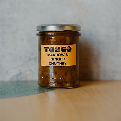Marrow and Ginger chutney