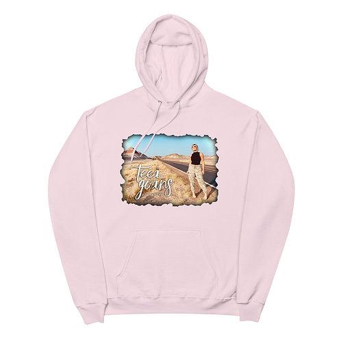 All Over The Map Unisex fleece hoodie