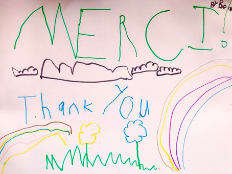 Act 2: Handwritten Thank Yous