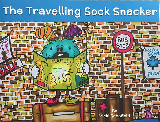 The Travelling Sock Snacker (Soft CoverBook -8.5 x 11.5)