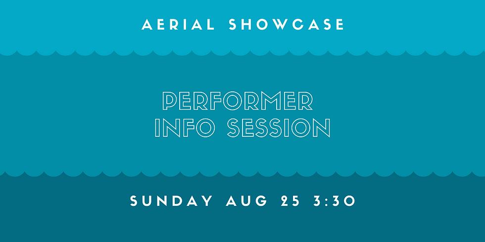Aerial Showcase Info Session