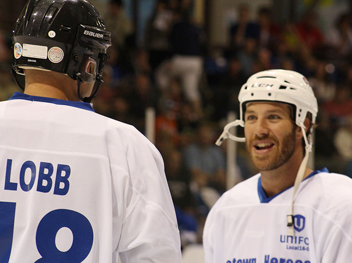 MP Ben Lobb & Brandon Prust