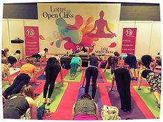 Aimee Garcia-Marshall Om Yoga Show London