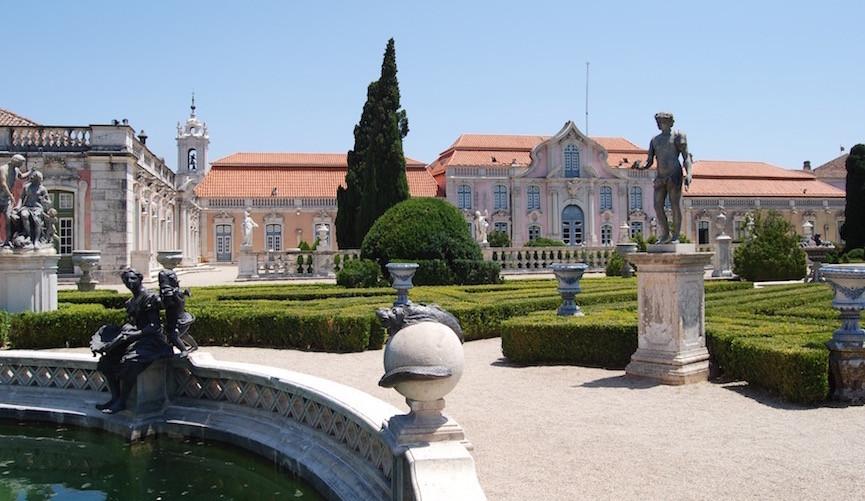 queluz palace, lisbon, destination wedding portugal