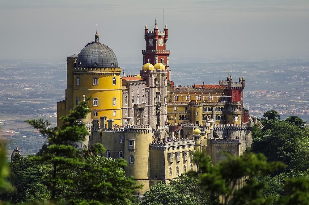 Pena Palace. Sintra. Lisbon. Wedding venue. Destination Wedding.