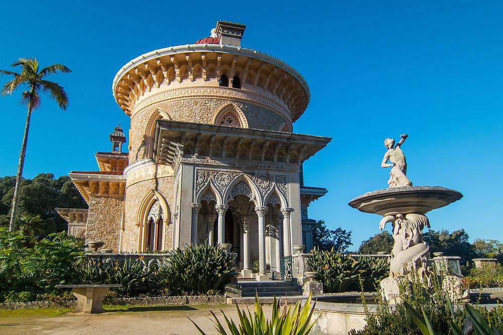 palace wedding venue. Lisbon. Monserrate Palace. Destination Wedding.