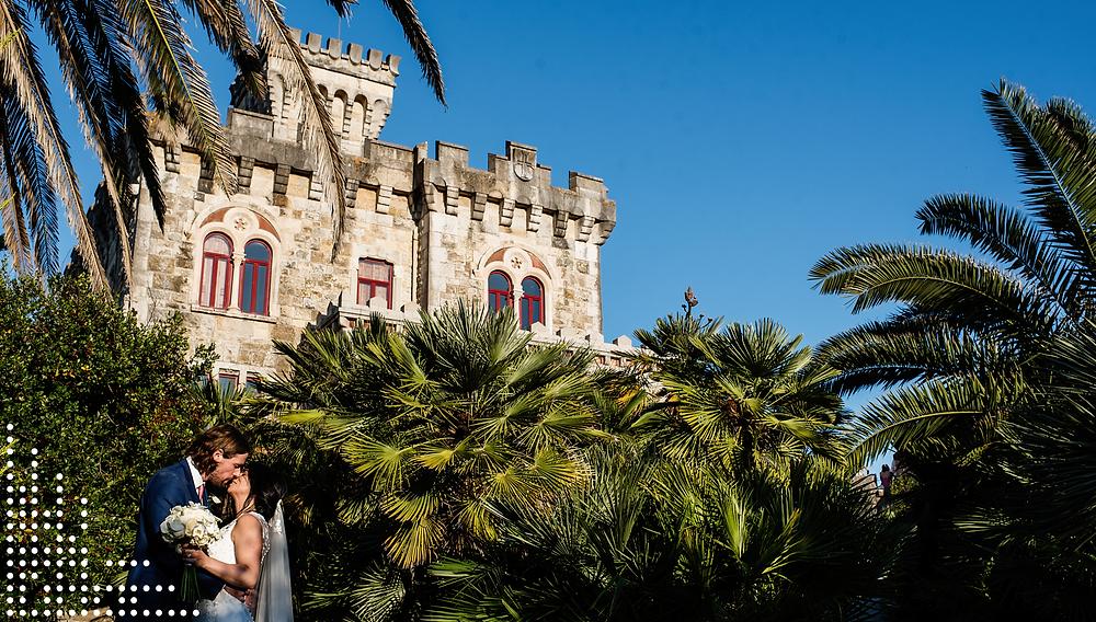 Forte da Cruz, wedding venue in Lisbon, sea view. Destination Wedding.