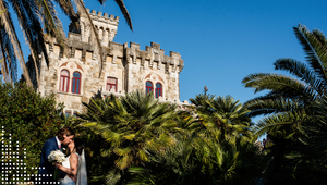 Forte da Cruz, wedding venue in Lisbon, sea view. Destination Wedding.