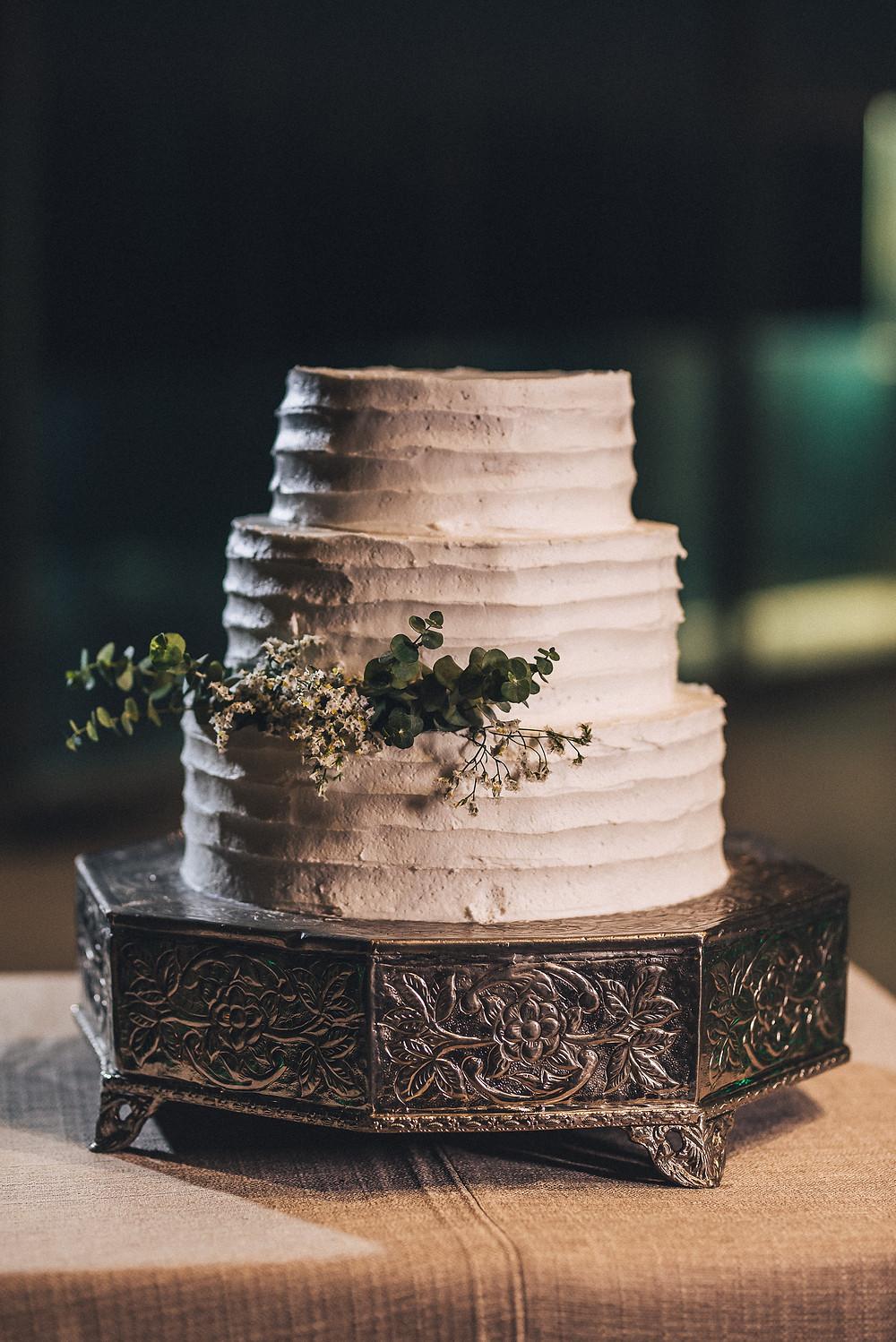 wedding cake green and white arriba cascais portugal destination wedding planning