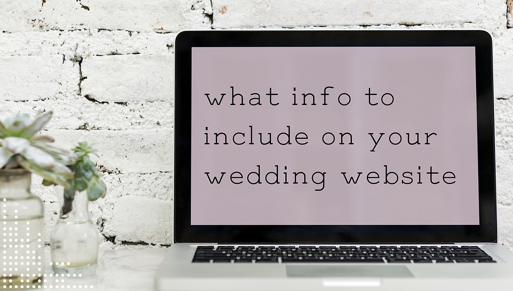 information on wedding website, portugal wedding planning