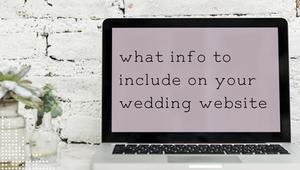 information on wedding website, portugal wedding planning