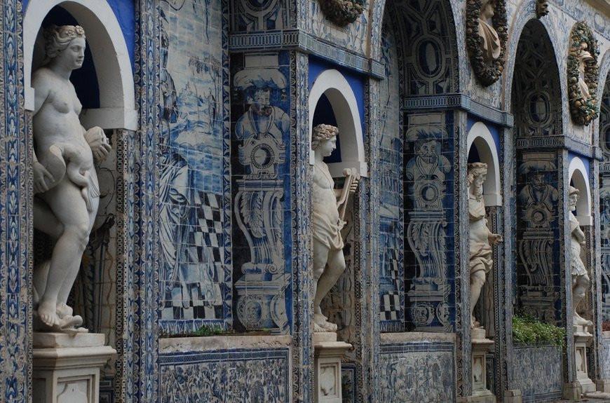marqueses da fronteira palace, lisbon, destination wedding portugal