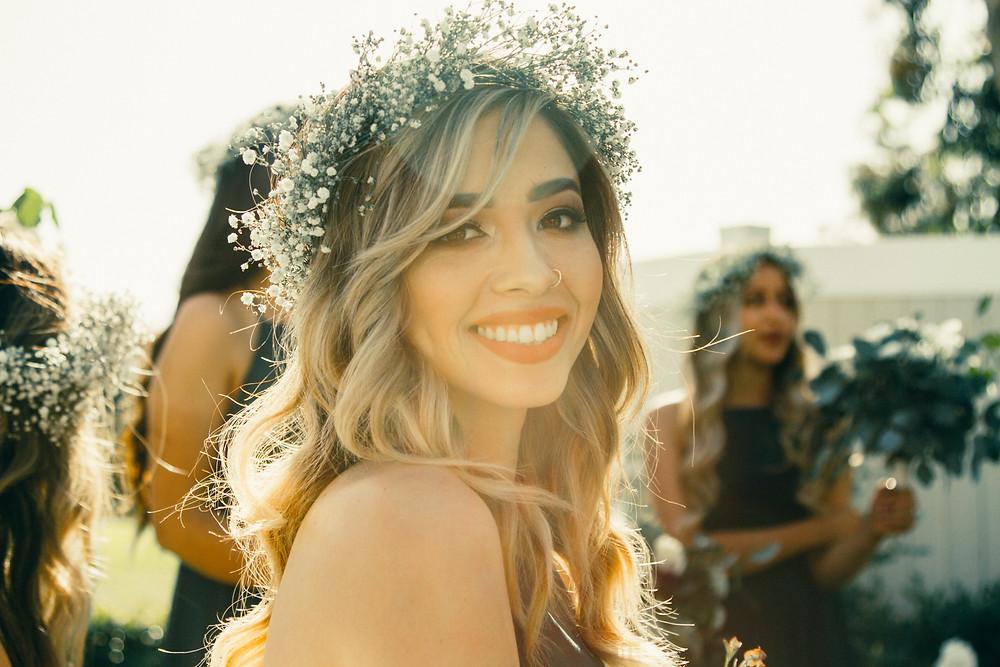 happy bride, destination wedding portugal
