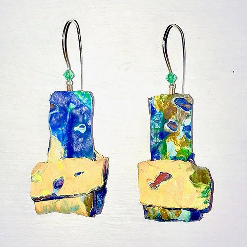 Mellow Yellow Dangle Earrings