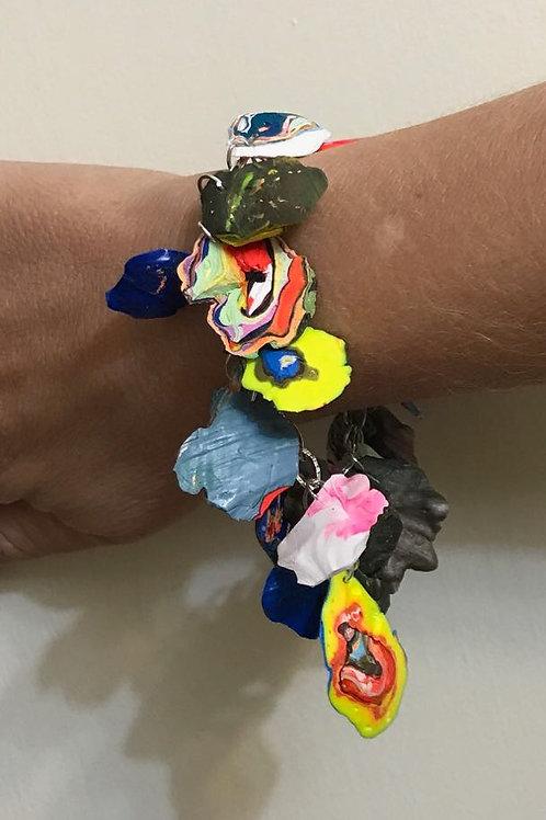Flower Buds Charm Bracelet