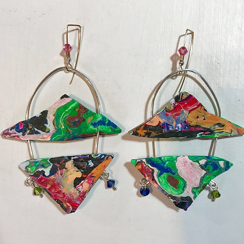Unique Dangle and Drop Earriings