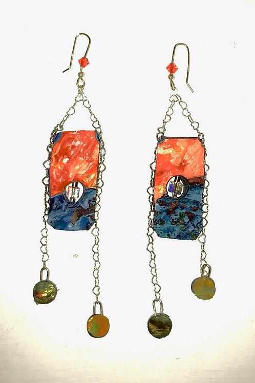Links of Love Earrings