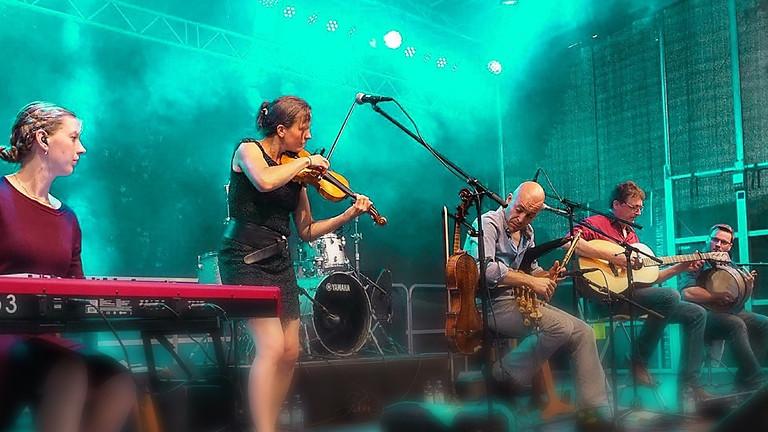 Larún beim Irish Folk Festival, Hanauer Sommer zusammen mit der Sue Sheehan Band