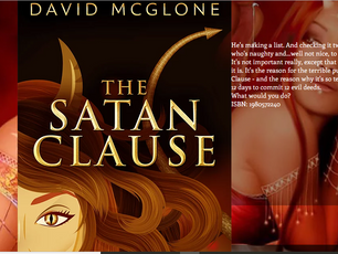 THE SATAN CLAUSE - A Christmas story with a devilish twist. Available Now From Amazon. https://www.a