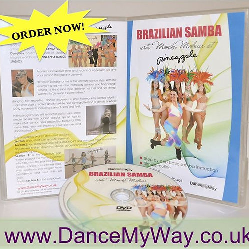 BRAZILIAN SAMBA DVD with Monika Molnar