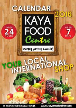 Kaya Food 2016 - Nottingham, UK