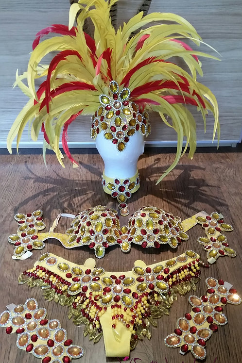 Yellow Samba Costume