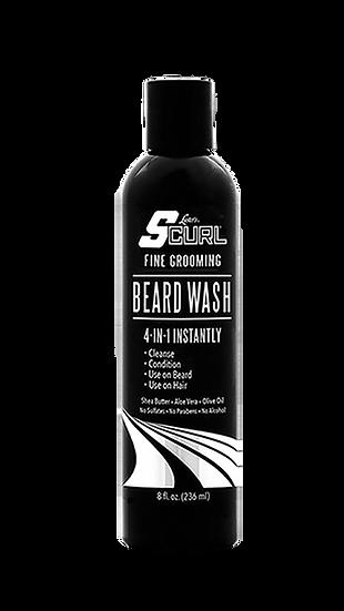 Scurl Beard wash