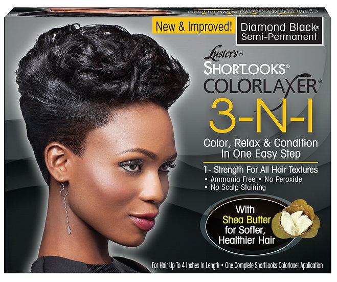 ShortLooks® Colorlaxer Diamond Black