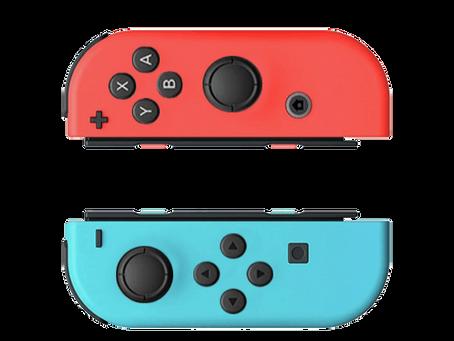 Grad Week 2021 | Nintendo Switch Joycon Study (Spring 2020)
