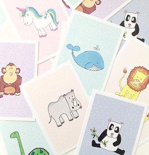 The Animals postkort · A6