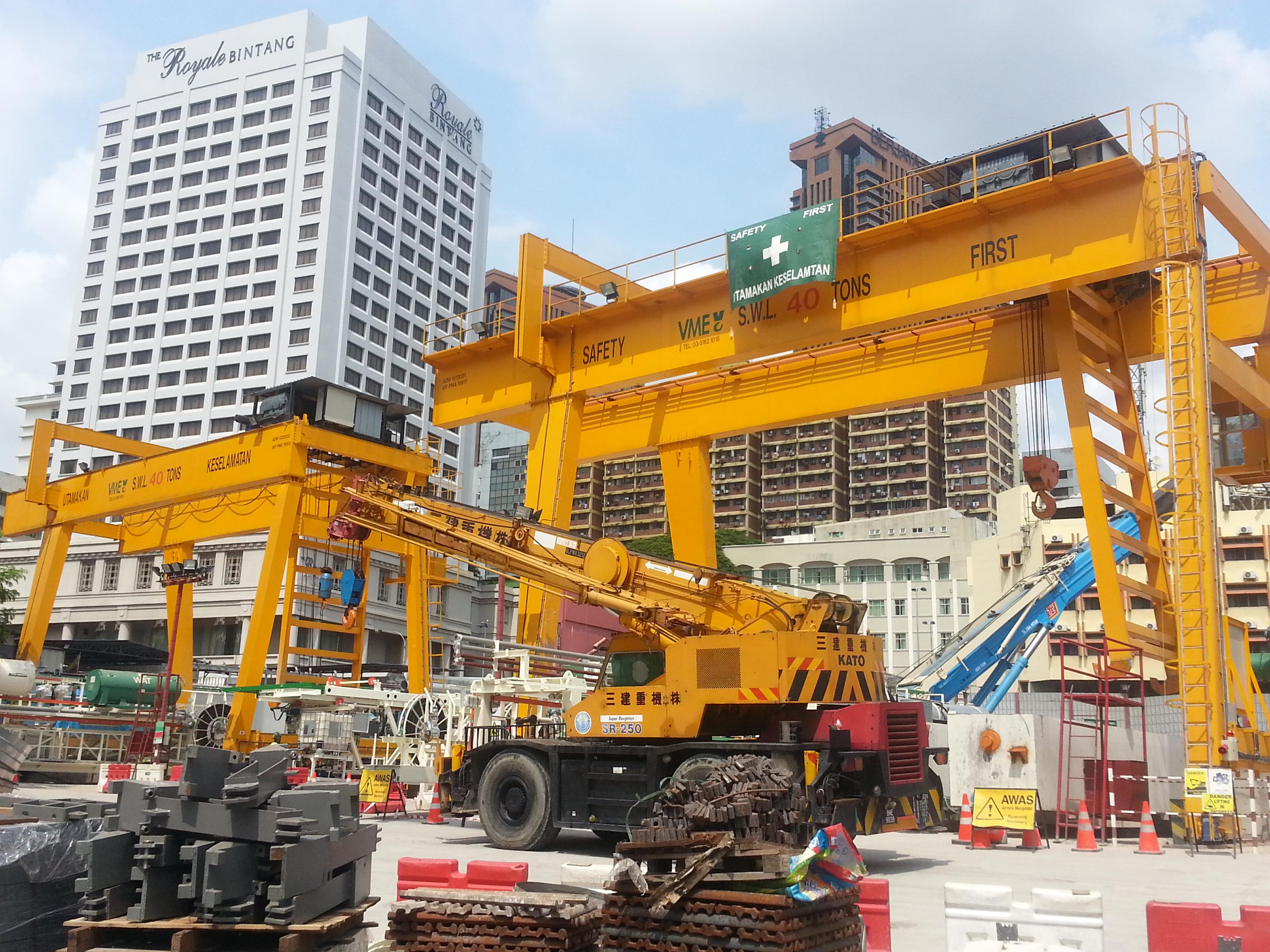 Overhead Crane malaysia, gantry crane malaysia : VME Cranes