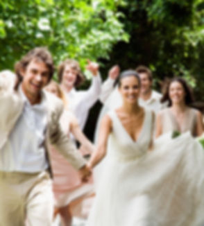 Wedding party - natural treatments