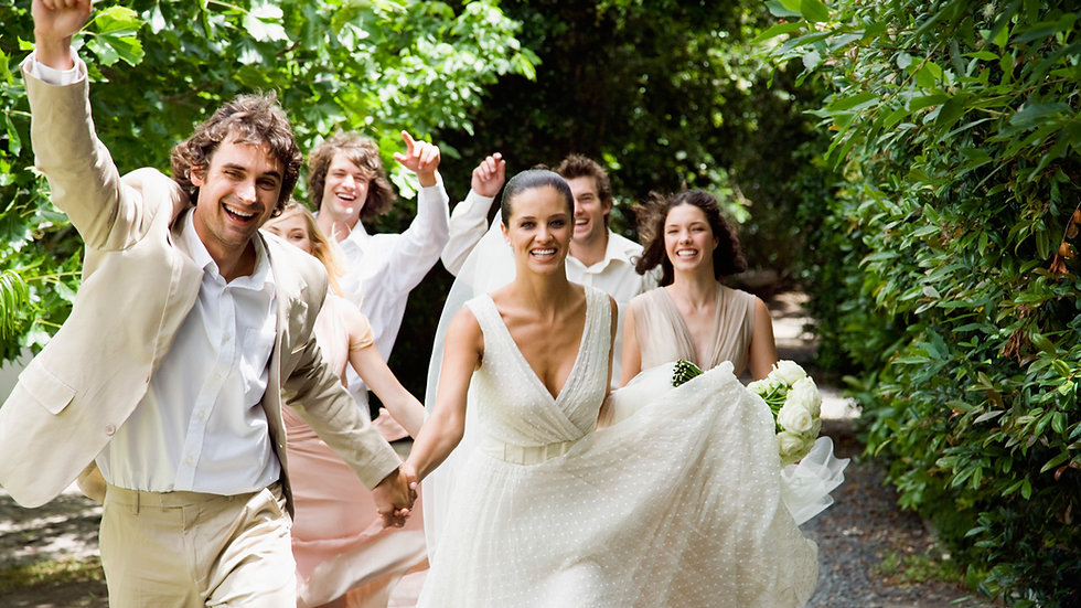 Bridal Party - Beautiful Bride