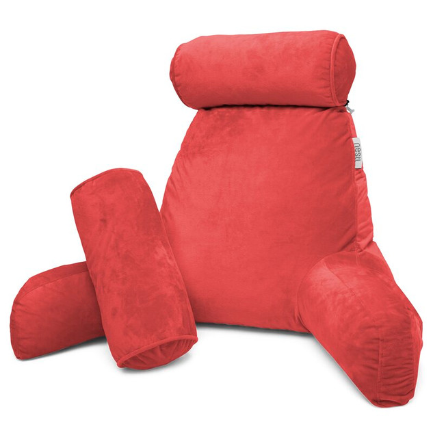 Red Reading Pillow