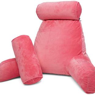 Pink Reading Pillow