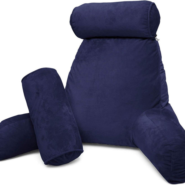Navy Reading Pillow