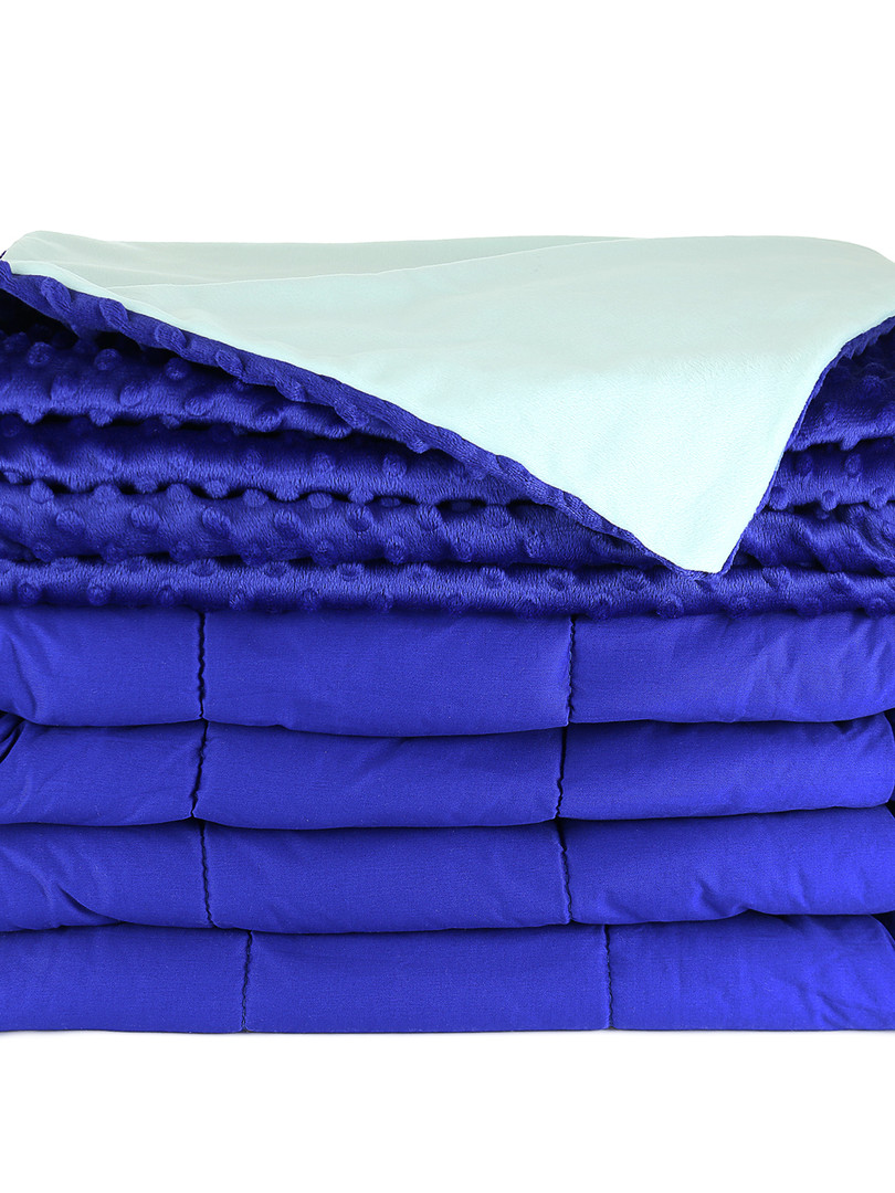 Royal/Aqua Weighted Blanket
