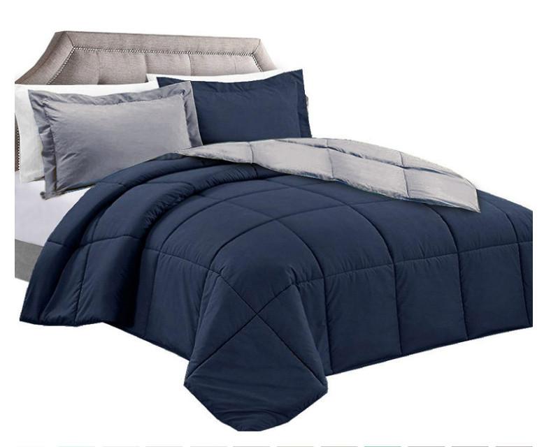 Navy/Charcoal Comforter