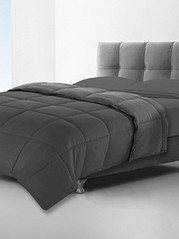 SOLID CHARCOAL DUVET queen only