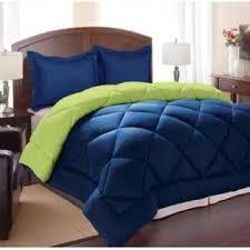 Royal Blue/Lime Comforter