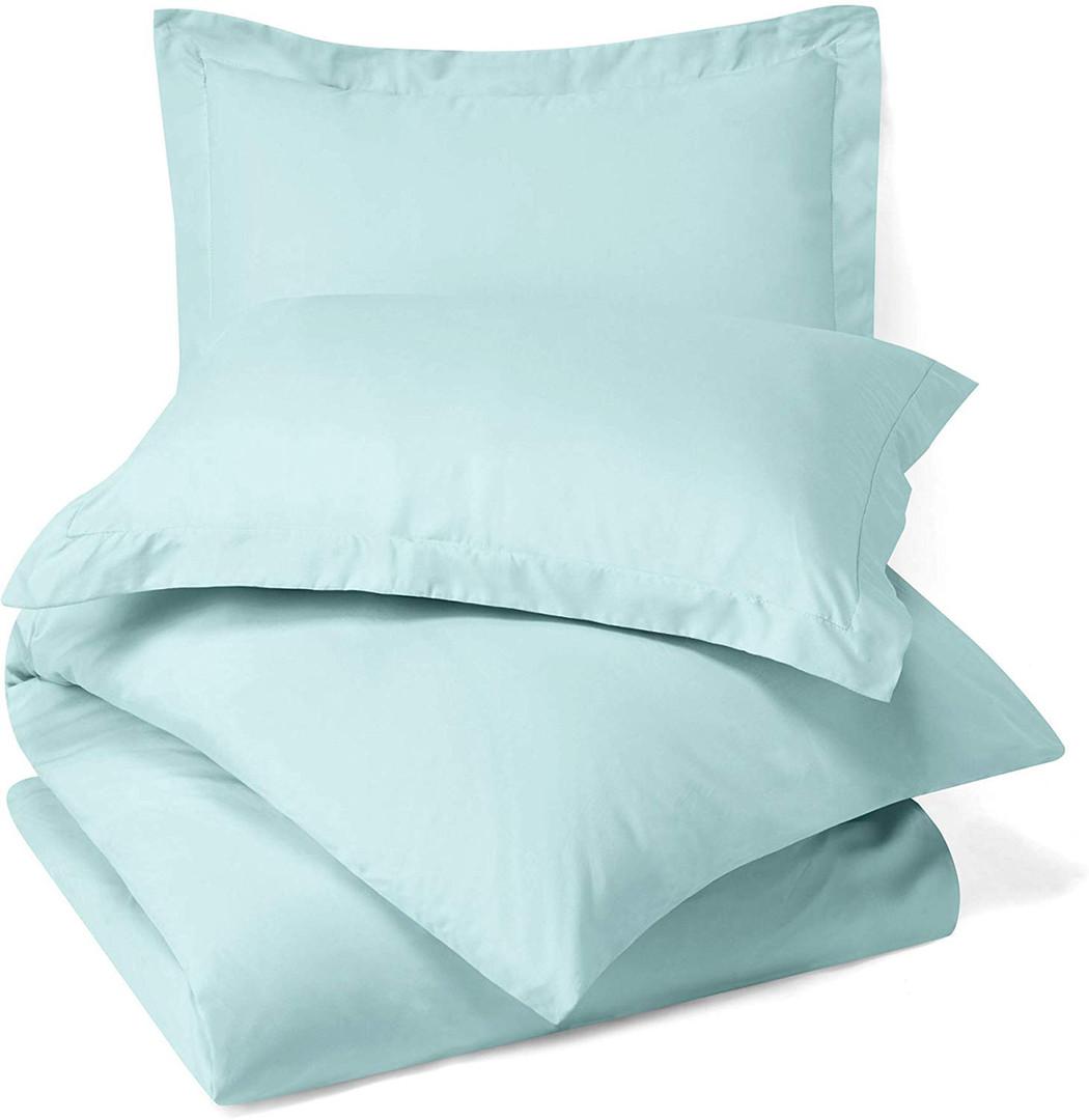 Light Blue Duvet Cover