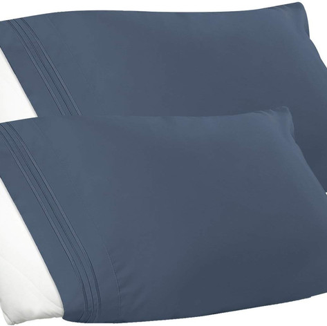 pillow cases navy