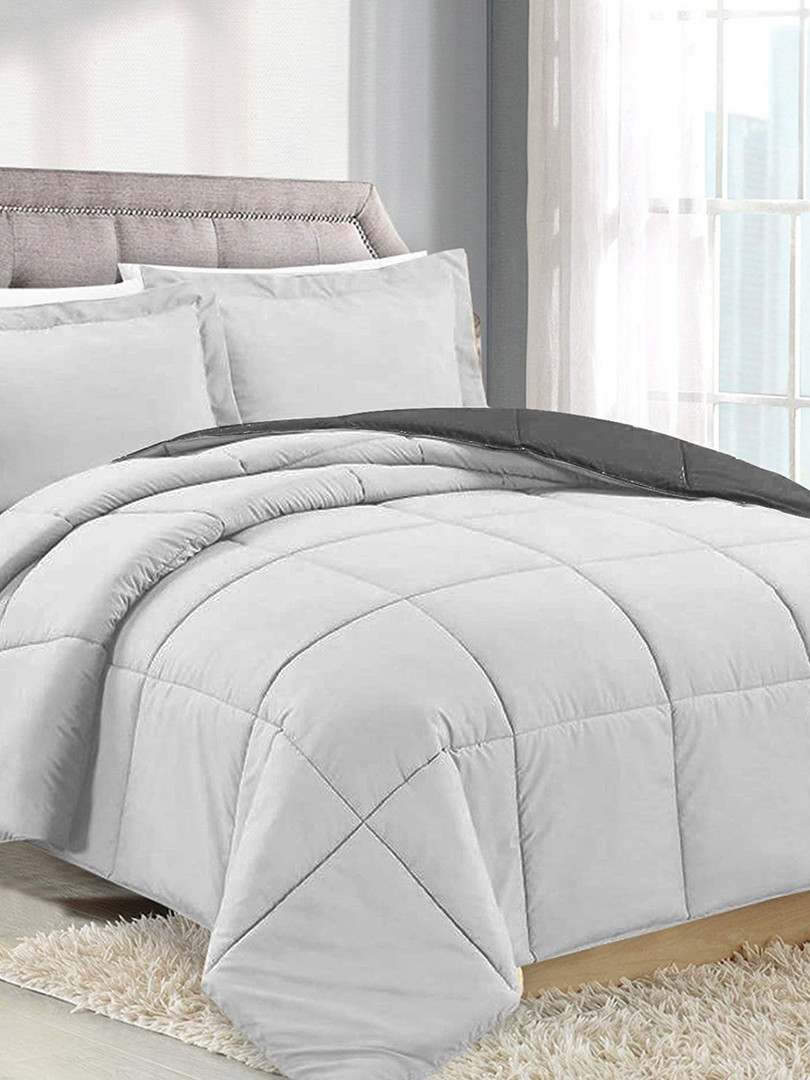Light Grey/Charcoal Comforter