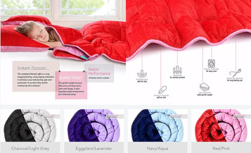 Kids Weighted Blankets
