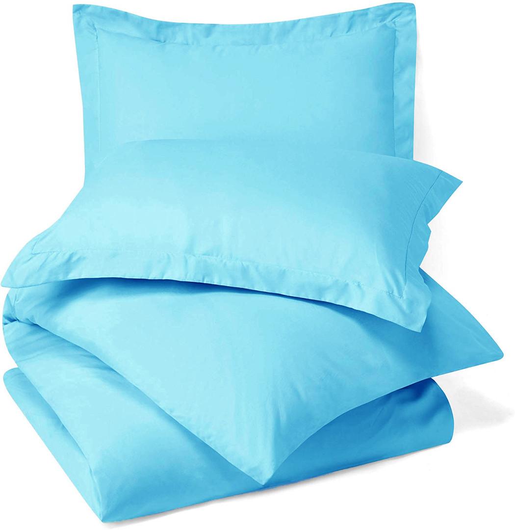 Beach Blue Duvet Cover