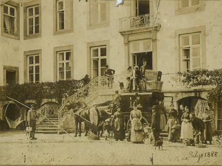 De familie Selys - Longchamp in 1888.