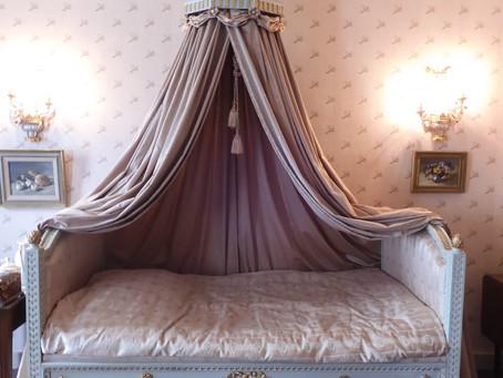 De bedden die rond 1780 gemaakt zijn door Mathias Soiron.