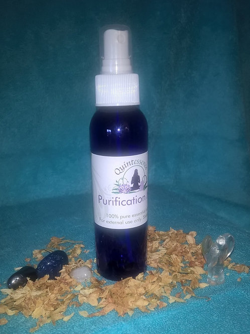 Reiki Charged Purification Mist